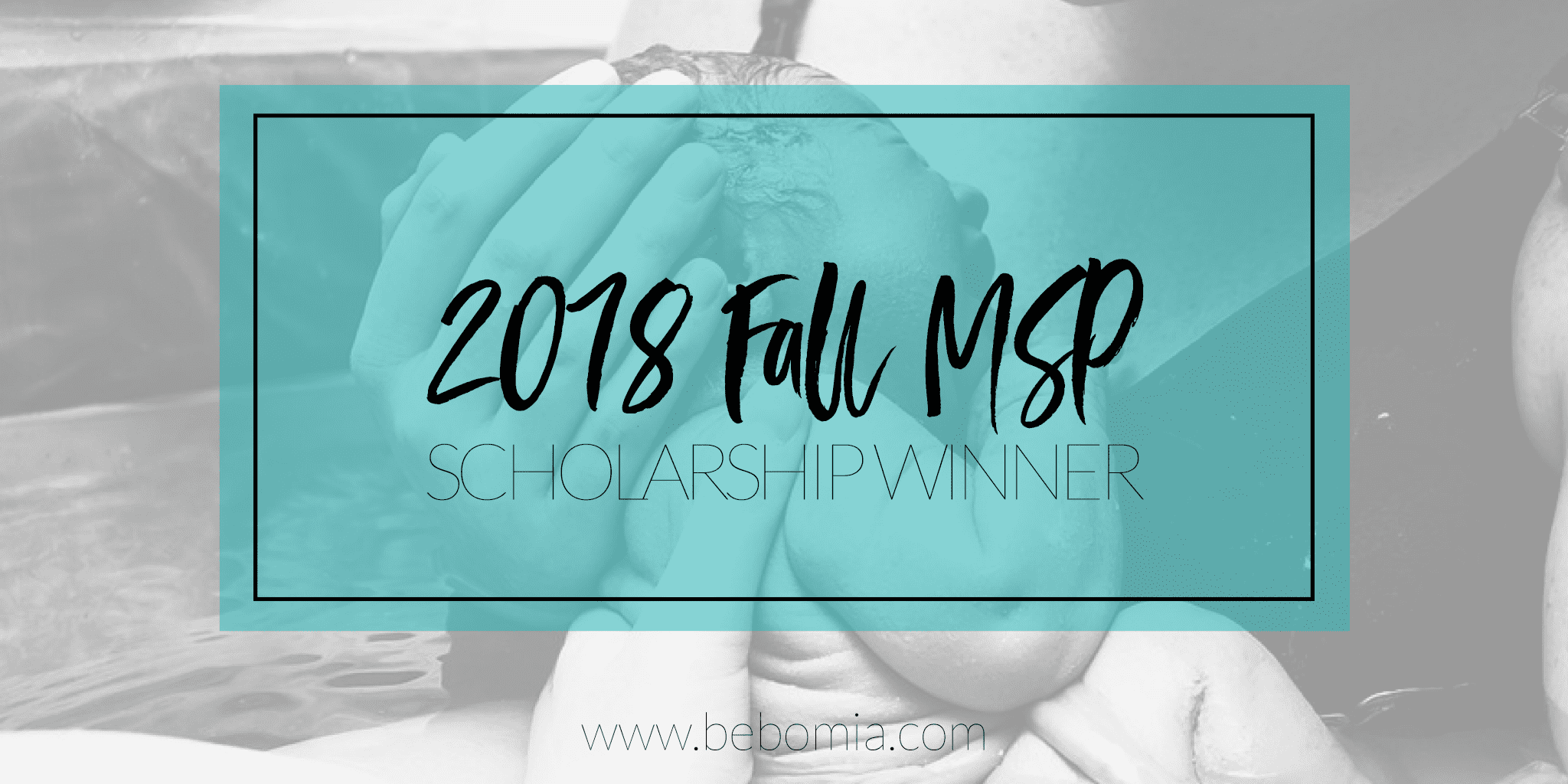 2018 Fall MSP Scholarship Winner